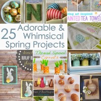 25 Adorable & Whimsical Spring Projects {DIY Challenge Features}