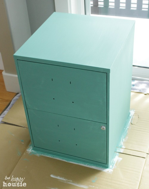 27 Simple Chalk Painted File Cabinets