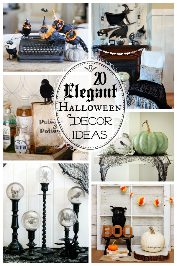 20 spooktacularly elegant diy halloween decor ideas the happy housie
