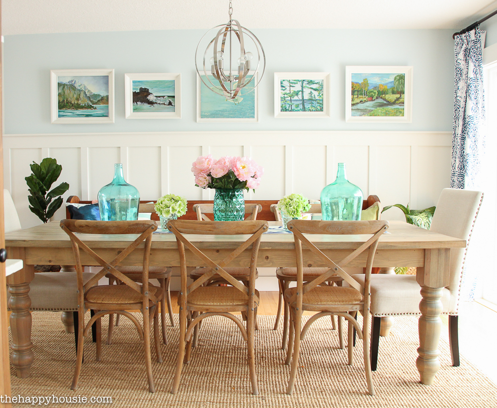 Coastal Cottage Farmhouse Style Wall Treatment Ideas That Aren T Shiplap The Happy Housie