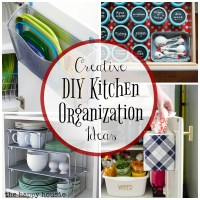 Super Creative Kitchen Organization Ideas