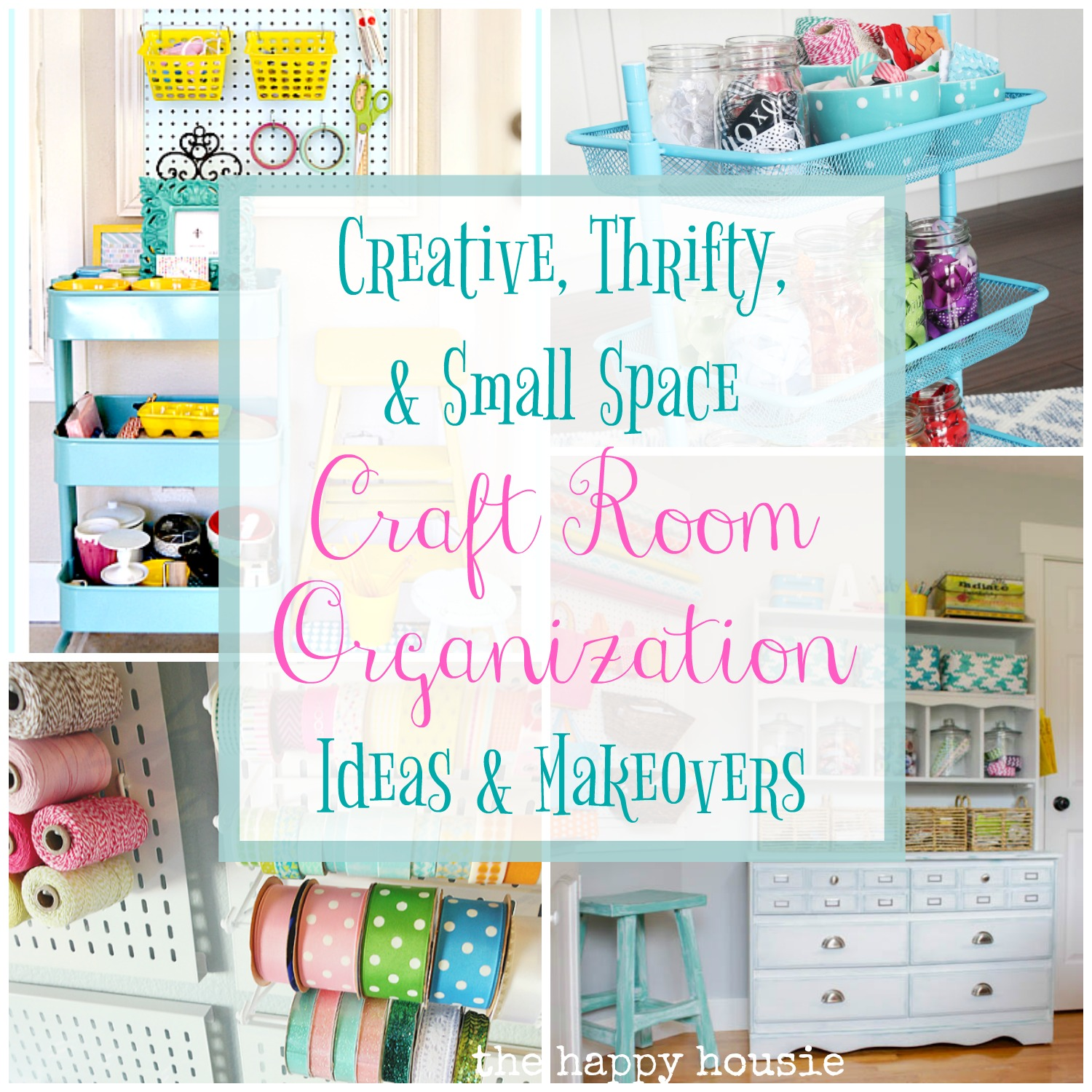 Small Space Organization Creative Thrifty Small Space Craft Room Organization Ideas