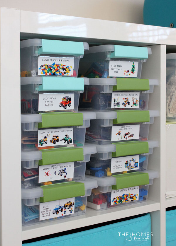 25 Fab Ideas for Organizing Playrooms  Kid\u0027s Spaces The Happy Housie