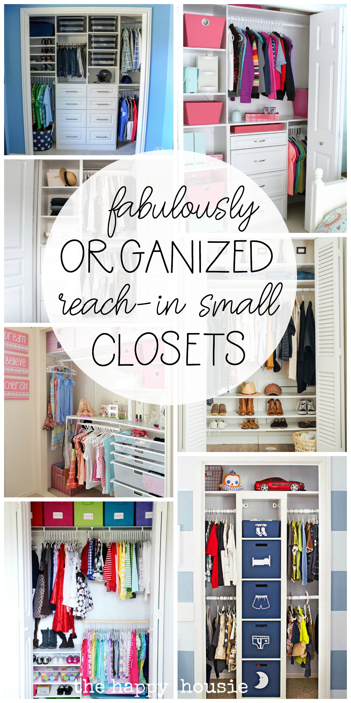 Closet Organization Small Reach In Closet Organization Ideas The Happy Housie
