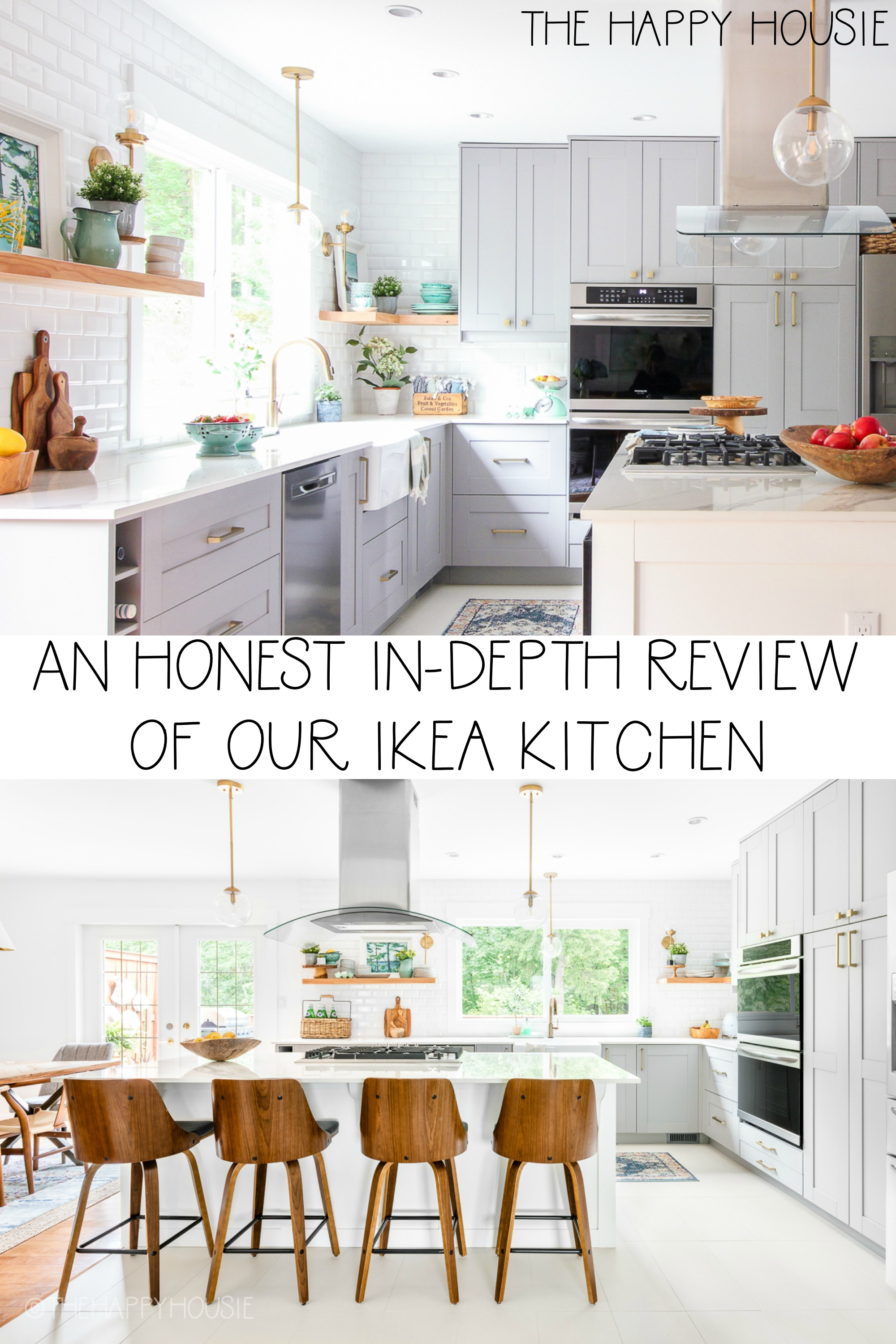 An Honest In Depth Review Of Our Ikea Kitchen The Happy Housie
