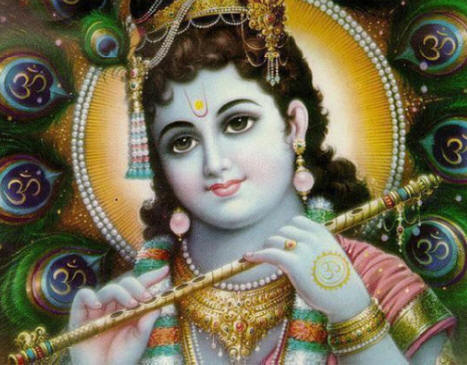 Lord Krishna With Gopis 3d Wallpaper Krishna S Flute The Hare Krishna Movement