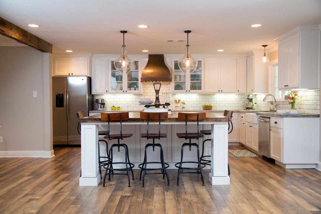 French Country Fixer Upper Kitchens How To Add Quotfixer Upper Quot Style To Your Home Kitchens