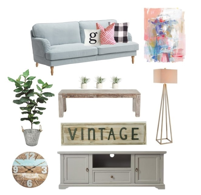 Mood Boards: Fresh Farmhouse Family Room