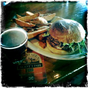 Veggie Burger Scottish style