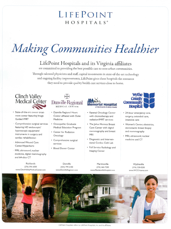 Advertisement Community Hospital - Bing Images Community - free memorial template