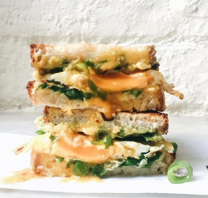 Avocado and Egg Snadwich