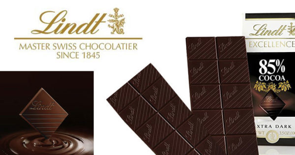 Lindt Excellence Extra Dark Chocolate