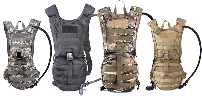 Running backpacks