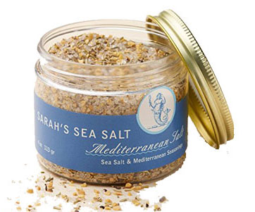Sarah's Sea Salt, Mediterranean 4oz