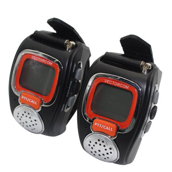 VECTORCOM Portable Digital Wrist Watch Walkie Talkie Two-Way Radio
