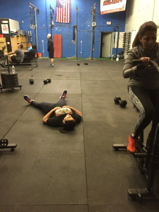 Still recovering from Wednesdays WOD...