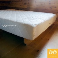 "6"" CERTIFIED ORGANIC NATURAL RUBBER MATTRESS"