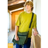 CLASSIC HEMP COURIER BAG