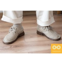 GRIEG GLUE-FREE HANDMADE HEMP KNIT SHOES