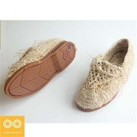 HANDMADE ATELIER HEMP KNIT SHOES