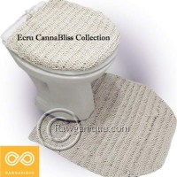 HEMP CONTOUR MAT LID COVER SET