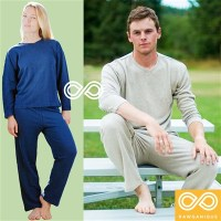 HEMP KNIT PAJAMAS SET