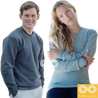 ORGANIC COTTON FLEECE SWEATSHIRT