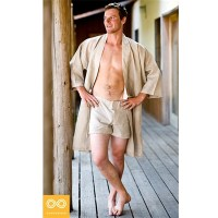 ORGANIC HEMP WOVEN BATHROBE