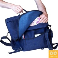 ULTIMATE HEMP COURIER BAG
