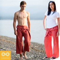 UNISEX KRABI ORGANIC COTTON THAI FISHERMAN'S PANTS