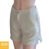 WOMEN'S HEMP BUCKLE SHORTS