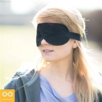 DREAM JOURNEY ORGANIC LINEN EYESHADE - BLINDFOLD
