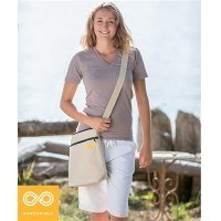 OAKLAND VEGAN ORGANIC UNISEX HEMP LAPTOP SATCHEL