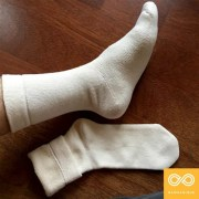 SCHUBERT ELASTIC-FREE 100% ORGANIC COTTON TERRY SOCKS