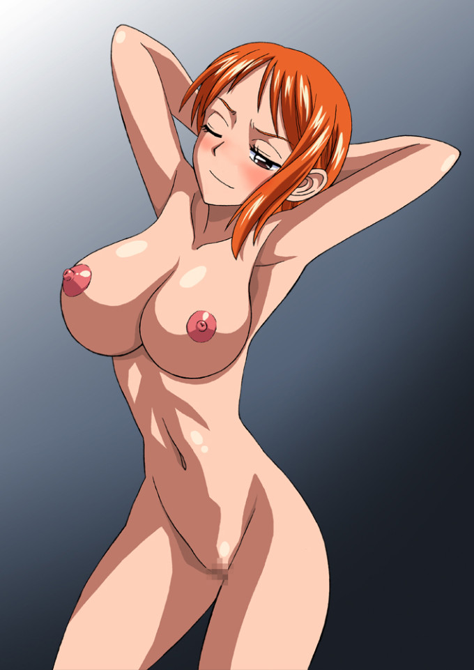 one piece nami boobs