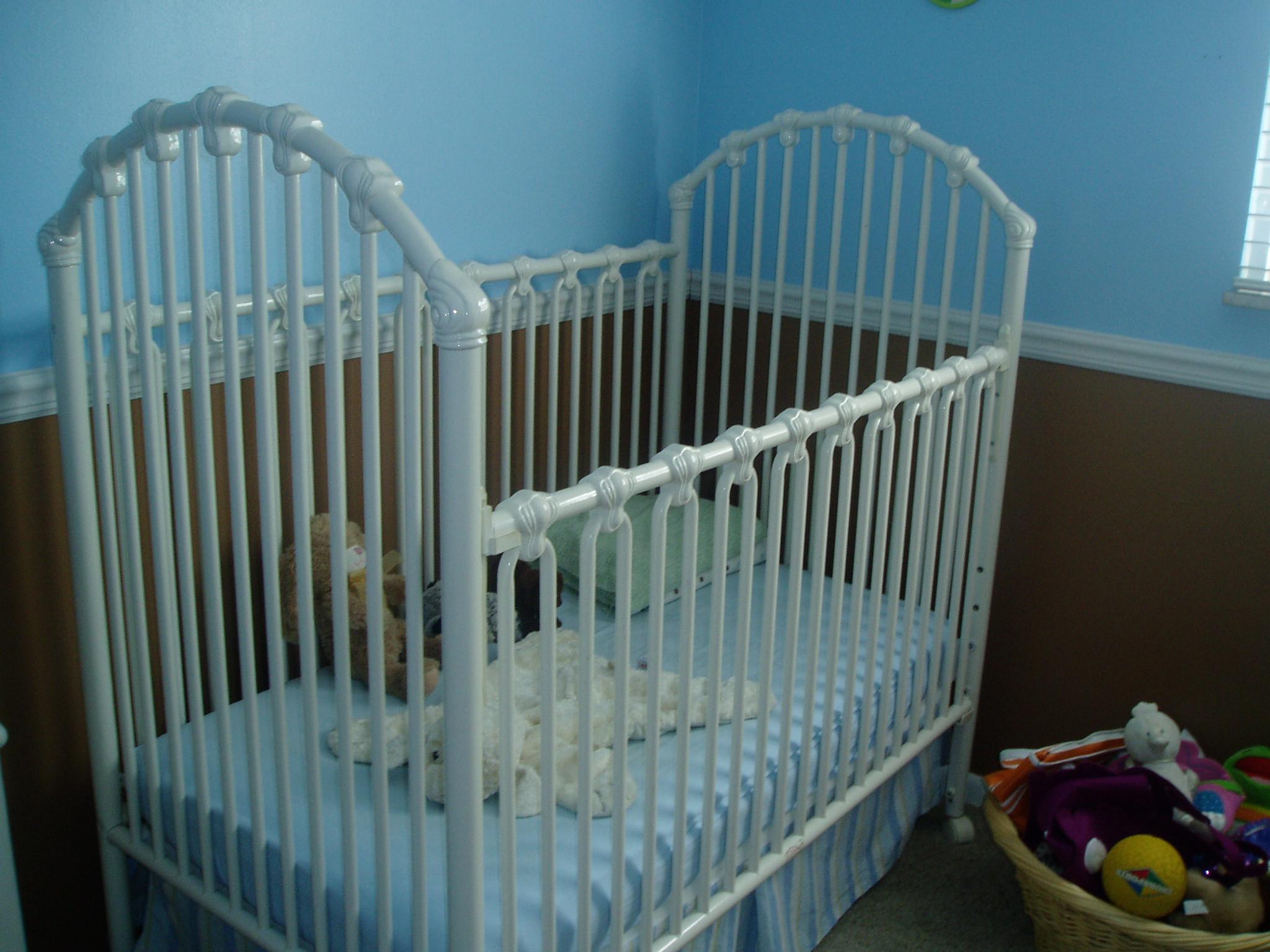 Gallery of iron crib for sale craigslist