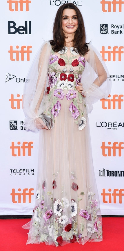 Rachel Weisz in Alexander McQueen- 2016 Toronto International Film Festival Best Dressed by The He Said She Said Experience