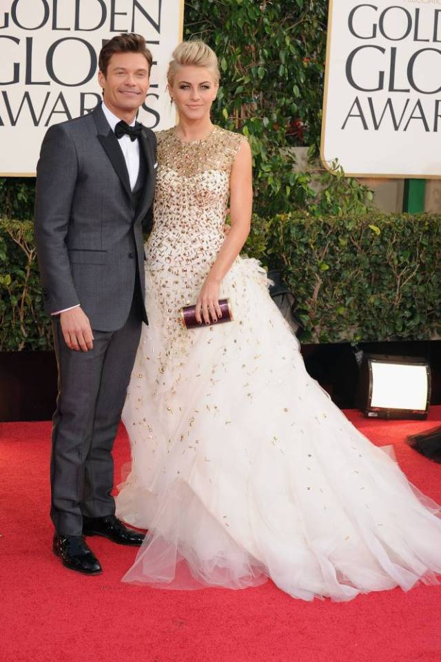 The He Said She Said Experience- Best Dressed 2013- Ryan Seacrest and Julianne Hough 2013 Golden Globes