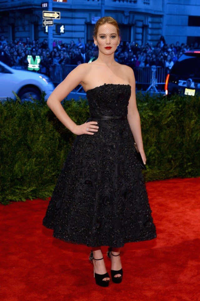 The He Said She Said Experience- Best Dressed 2013- Jennifer Lawrence in Dior 2013 Met Gala