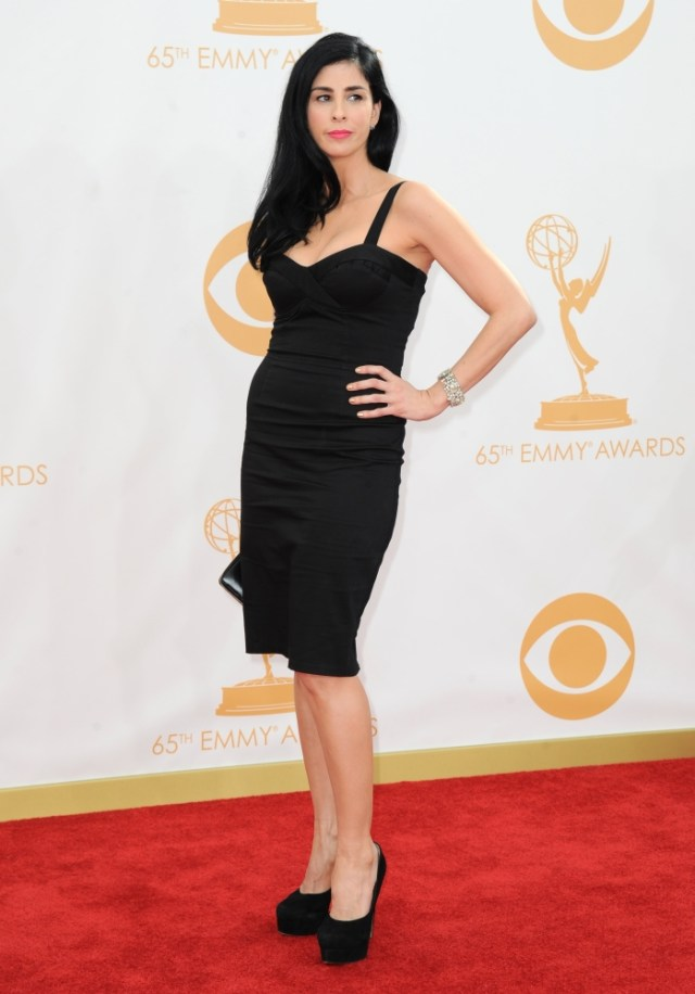 The He Said She Said Experience- Fashion Desk- 2013 Emmys- Sarah Silverman