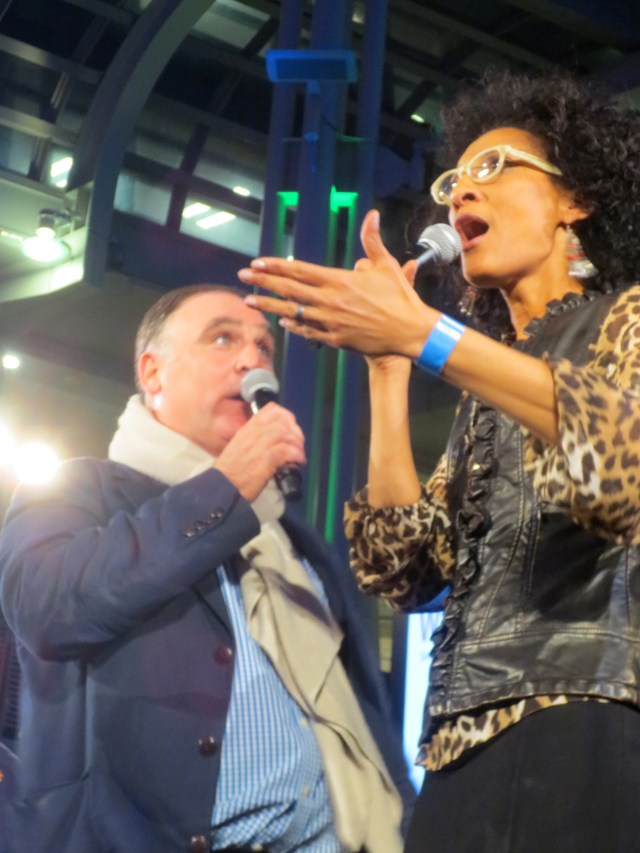 Jose Andres and Carla Hall kept the energy high