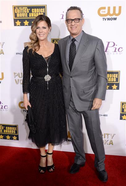 The He Said She Said Experience- 2014 Critics' Choice Movie Awards Best Dressed- Tom Hanks