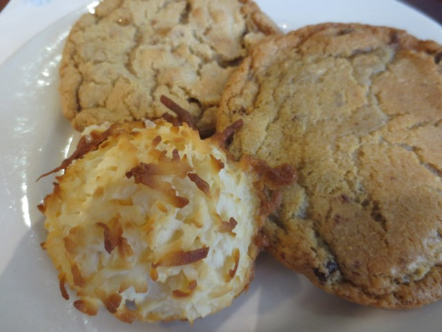 Coconut Macaroons and cookies