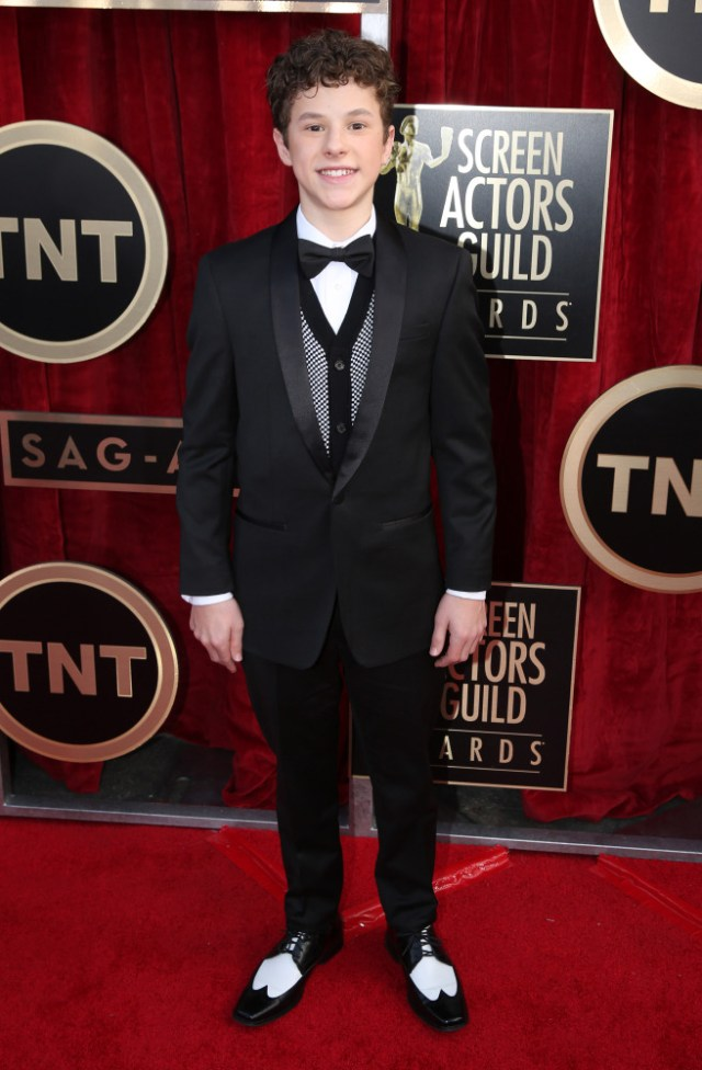 The He Said She Said Experience- 2014 SAG Awards Best Dressed- Nolan Gould