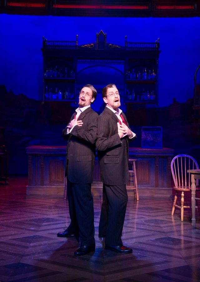 Crazy for You at Signature Theatre: Review by The He Said She Said Experience
