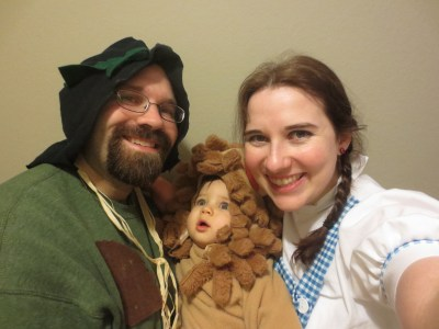 Our First Family Halloween Costume