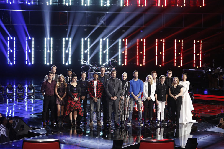 The Voice Fantasy League: The Top Twelve