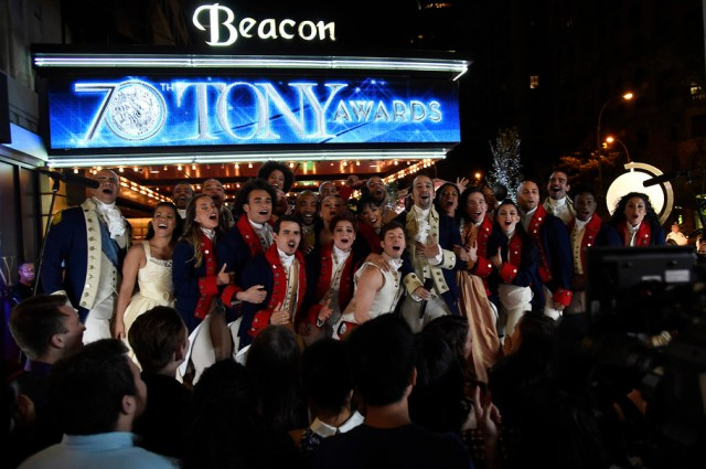 Ham for Ham style performances- 9 Reasons We Loved the 2016 Tony Awards by The He Said She Said Experience