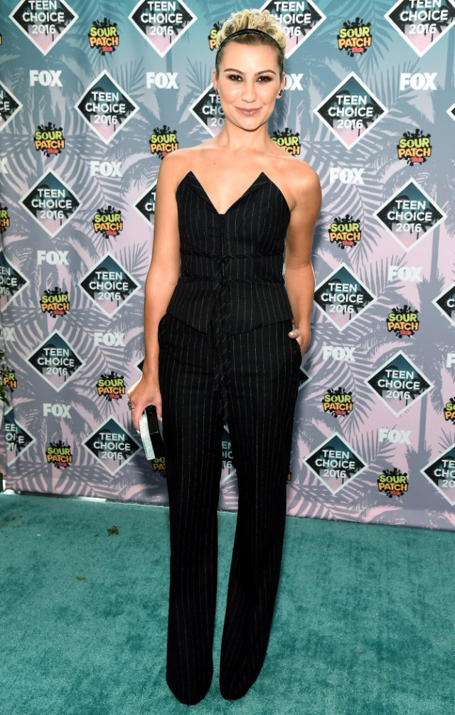 Chelsea Kane in H&M- 2016 Teen Choice Awards Best Dressed by The He Said She Said Experience