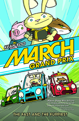 March Grand Prix- NetGalley Reads March 2017
